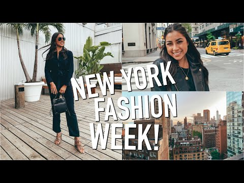 My First New York Fashion Week!!