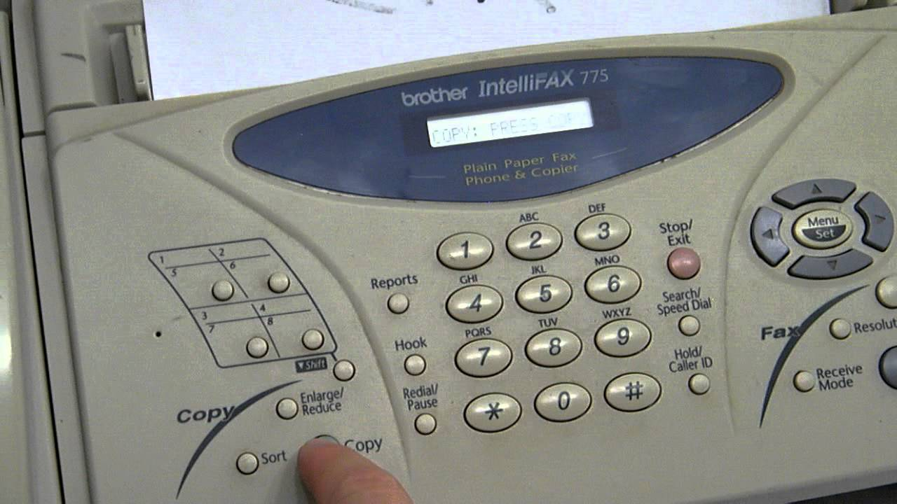 Brother IntelliFax-775 Manual - Download Owners Manual ...