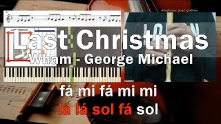 Last Christmas Wham Educacao Musical Notas para flauta, Guitarra, Piano Jose Galvao
