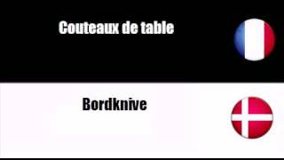 Lær fransk = Bestik