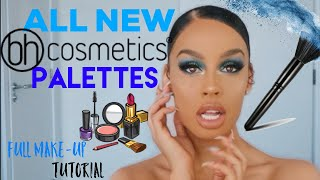 ALL NEW BH COSMETICS PALETTES FULL MAKE UP TUTORIAL