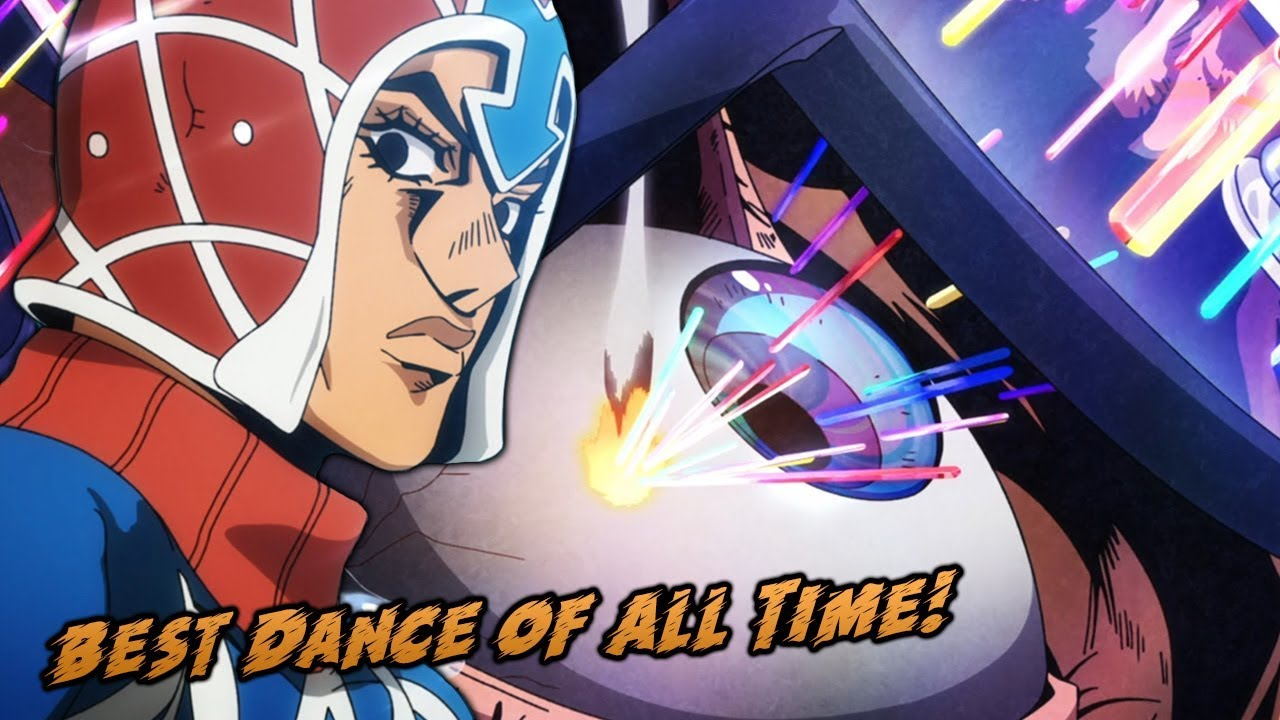 Best anime dance of all time jojos bizarre adventure golden wind episode 7
