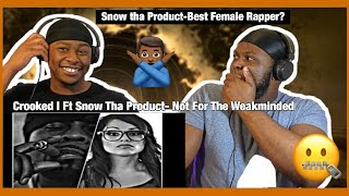 Crooked I Ft. Snow Tha Product - Not For The Weakminded [Brothers React]