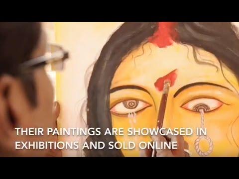 The prison artists of Kolkata