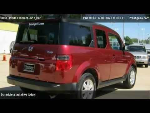 2008 ex 4x4 honda element prestige auto sales in ocala youtube. Black Bedroom Furniture Sets. Home Design Ideas