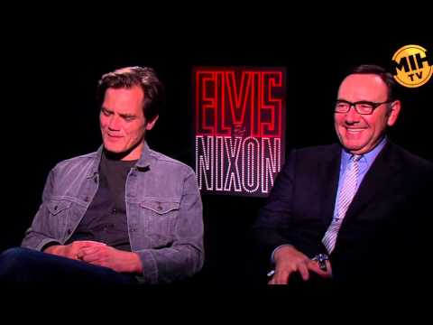 Michael Shannon and Kevin Spacey's Uncut Interview for 'Elvis & Nixon'