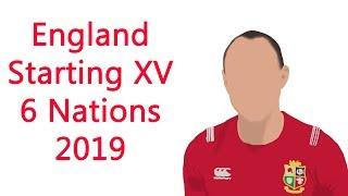 England Team Selection 6 Nations 2019