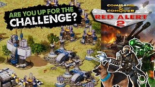 Red Alert 2 - Without Playing The First Minute! - 7 vs 1 - Superweapons
