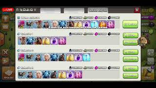 Clash Of Clans Ataques Liga Lendária😥