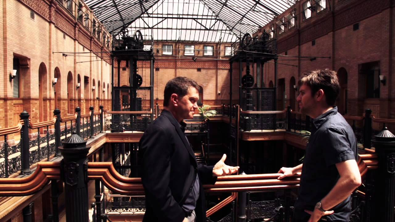 Los angeles the bradbury building youtube for Architecture drawing 500 days of summer