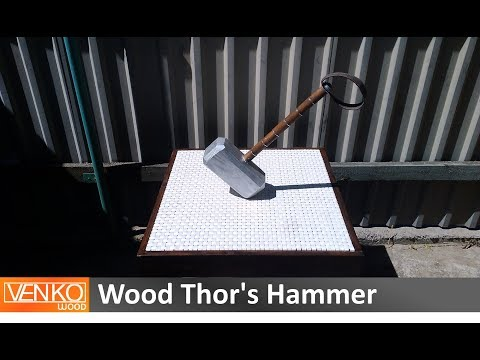 Wood Thor's Hammer
