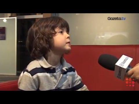 Siedmioletni Kacperek opowiada o tym jak dostał się do serialu Rodzinka.pl