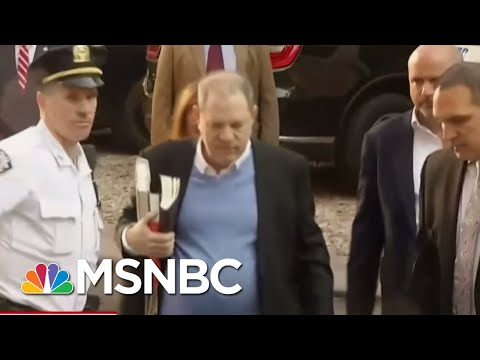 Once The King Of Hollywood, Harvey Weinstein Surrenders To Authorities | Morning Joe | MSNBC