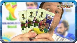 Adrenalyn XL Fifa World Cup Brasil 3 Booster Unboxing