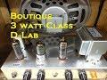 How to build a Tube combo guitar Bookshelf speaker Boutique Amp