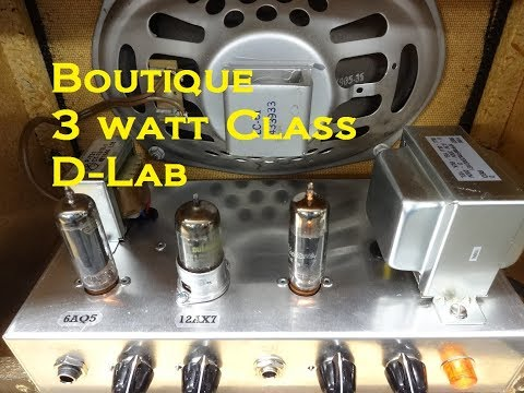How to build a Tube combo guitar Bookshelf speaker Boutique Amp