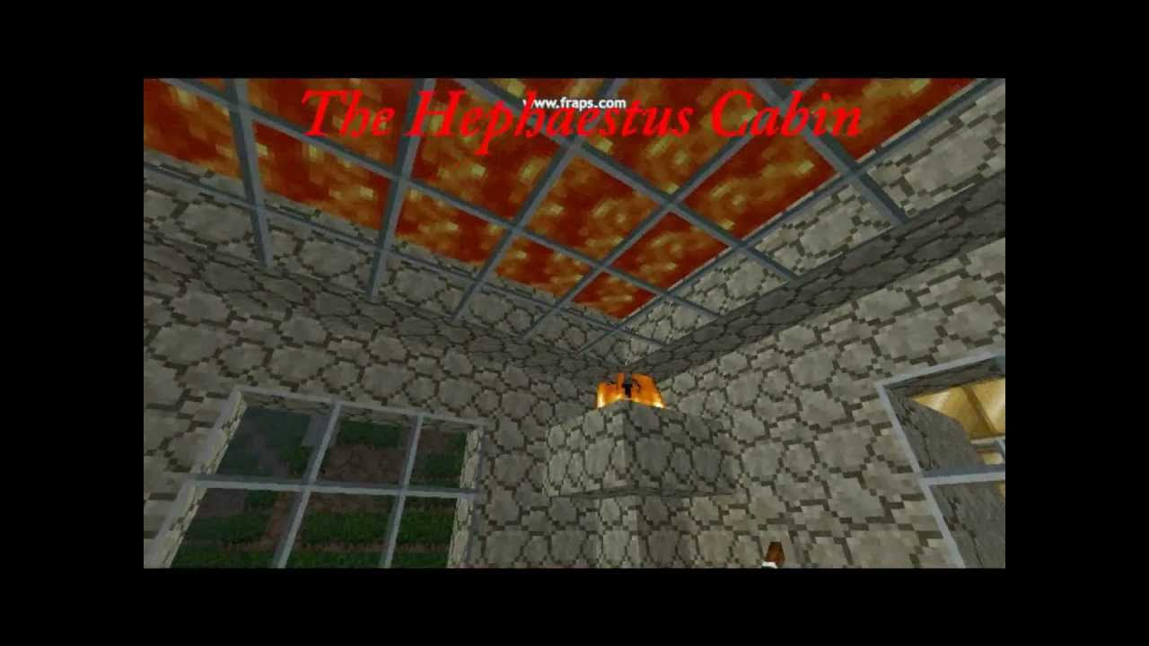 minecraft percy jackson part 1 camp halfblood youtube