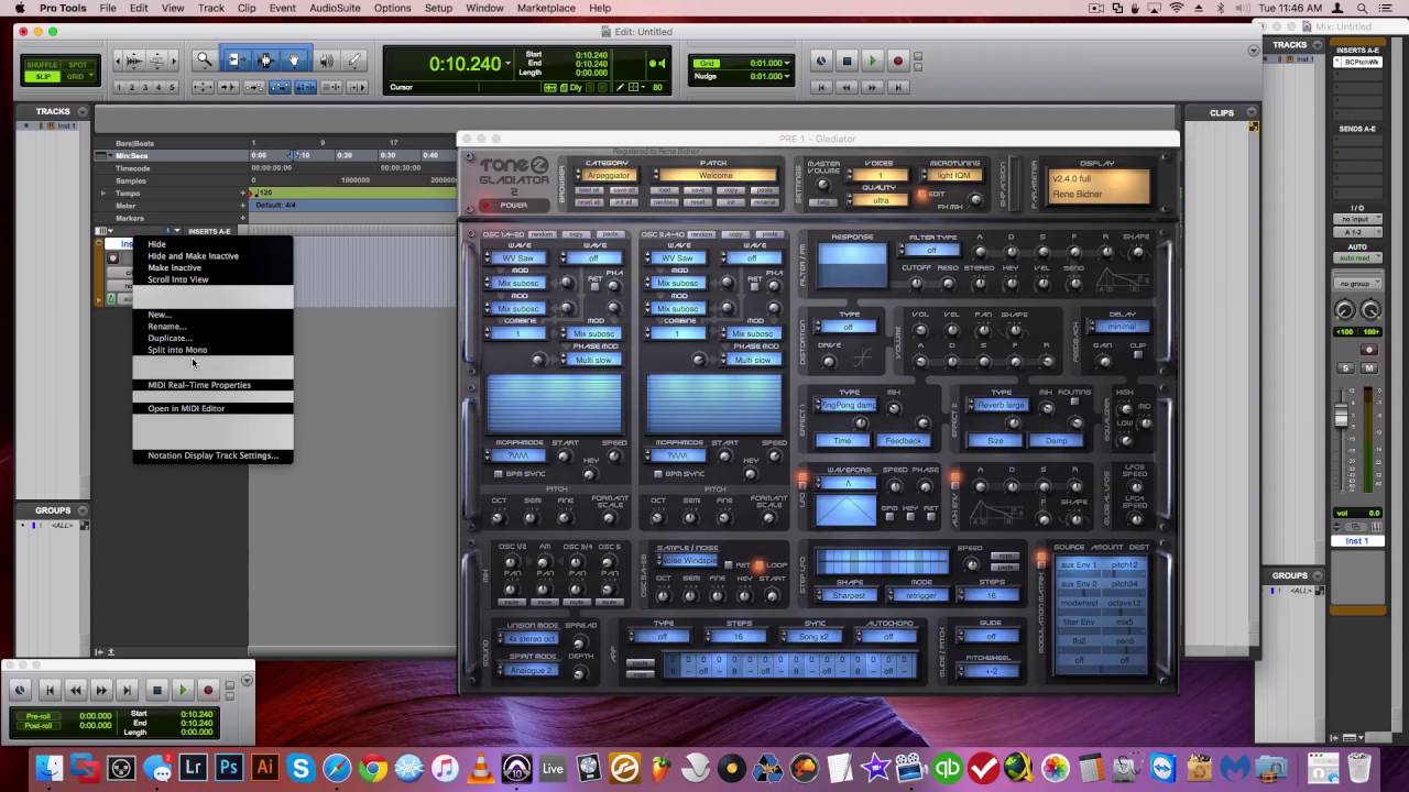 extremely fast shortcut to open vst au plugins in pro tools 10 11 12 youtube. Black Bedroom Furniture Sets. Home Design Ideas