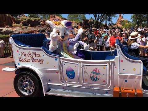 2019 Magic Kingdom Easter Parade at Walt Disney World