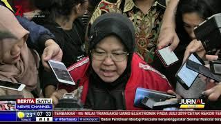 Risma Bantah Ada Pengusiran Mahasiswa Papua di Surabaya