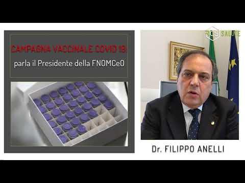 Il presidente di FNOMCeO sulla campagna vaccini Covid-19