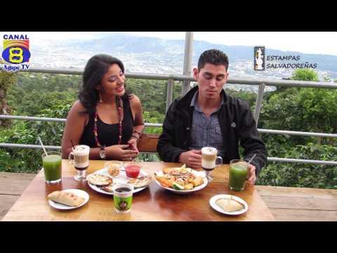 Estampas Salvadoreñas programa del 25 octubre 2014. Café San Cristóbal, El Boquerón.