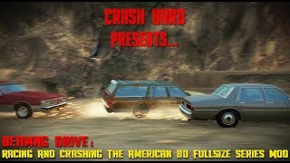 BeamNG Drive - Racing & Crashing The American 80 Fullsize Series MOD