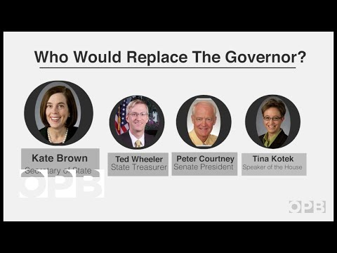 What Happens In Oregon When A Governor Resigns?