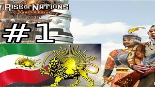 Let`s Play Rise of Nations Thrones and Patriots - Persians Part 1