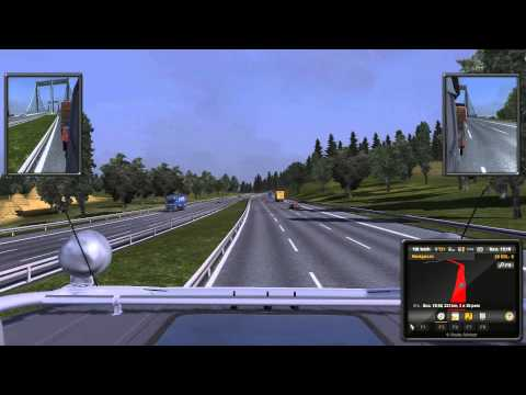 Euro Truck Simulator 2 Luxembourg-Hannover express transport