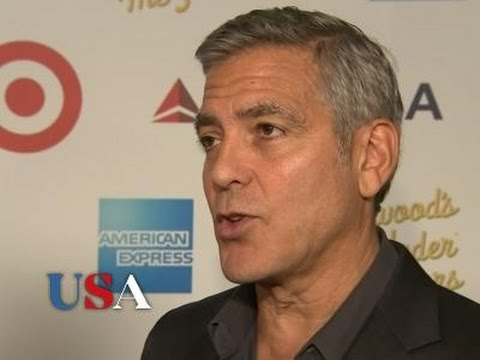 Clooney recalls early showbiz struggles | USA Election News 2016