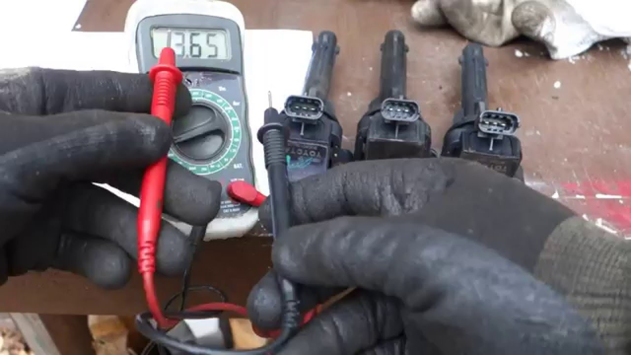 How to test Toyota Avalon ignition coil status OK or bad