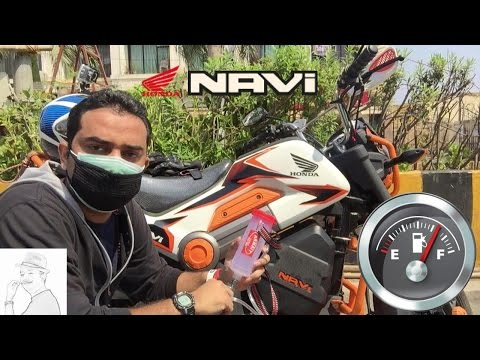 Best ever Mileage on a Honda Navi | Fuel efficiency |