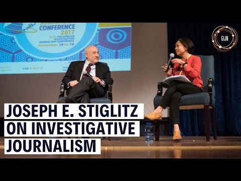 #GIJC17 Keynote Address by Joseph E. Stiglitz and Global Shining Light Award Ceremony
