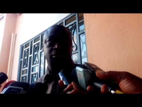 Tham Camara, président de l'association de la presse sportive de Guinée