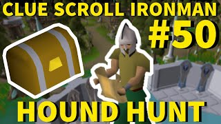 The Grind is FINALLY Over... - Clue Scroll Ironman #50 (Hound Hunt)