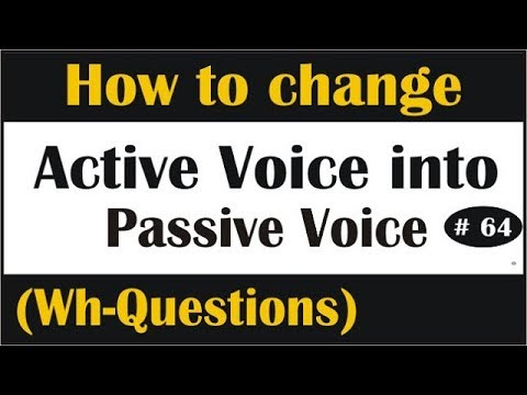 Active and passive voice -tutorial 2 [hindi] | ssc cgl | ssc chsl.