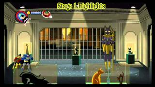 Batman Brave and The Bold:  The Video Game Nintendo Wii First Look