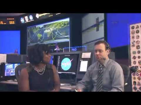 NASA ISS Expedition 36 Space Station Live! From mission Control Houston June 25, 2013