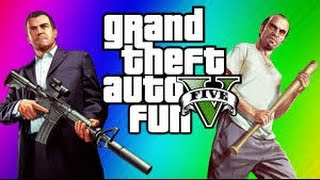 GTA V Funny Moments(Damn, Car Crashes, Jet Crashes, Dirt Bike Fun, Damns,    MANY MORE)