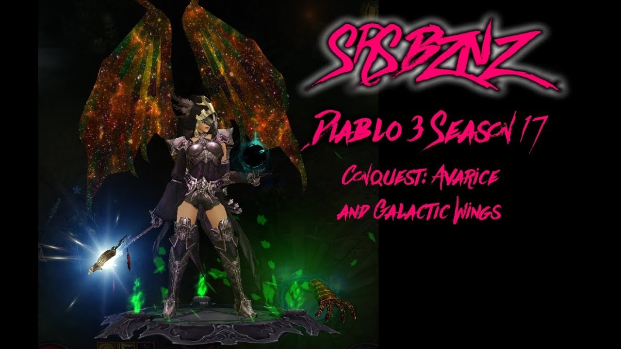 Diablo 3 Season 17-Avarice and Galactic Wings