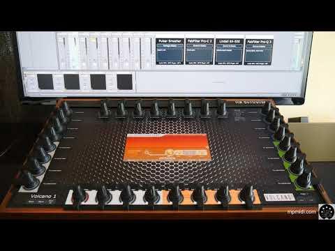MP Midi Controller in Ableton Live