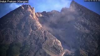 9/6/2019 - Mt Merapi TimeLapse