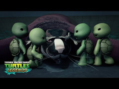 How Raph Cracked His Shell - Raph and His Teams - TMNT Legends