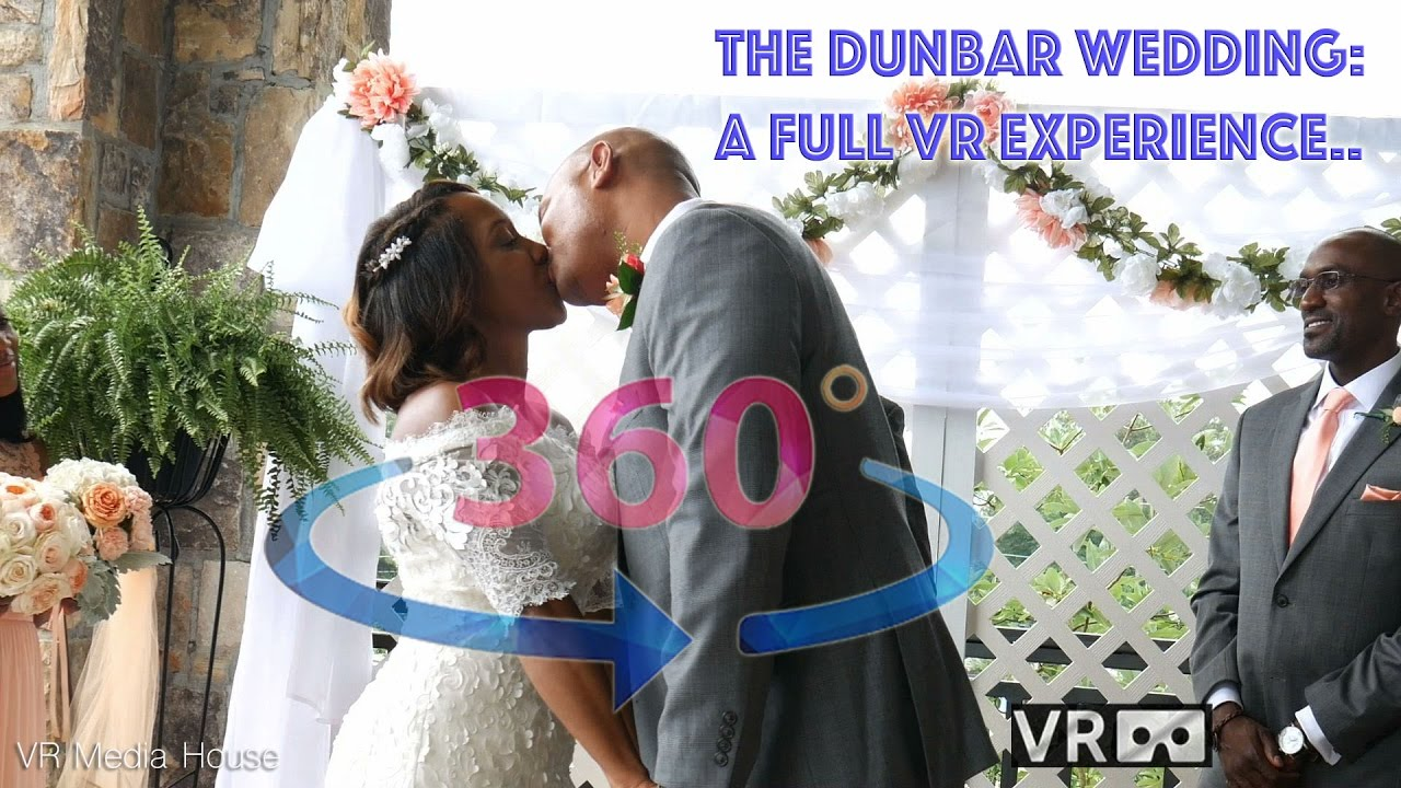 Tying the Knot . An Immersive VR Wedding Experience in 4K 360º video