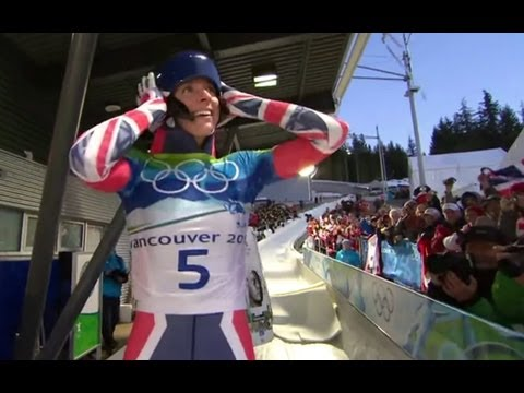 Amy Williams Wins Skeleton Gold for Great Britain - Vancouver 2010 Winter Olympics