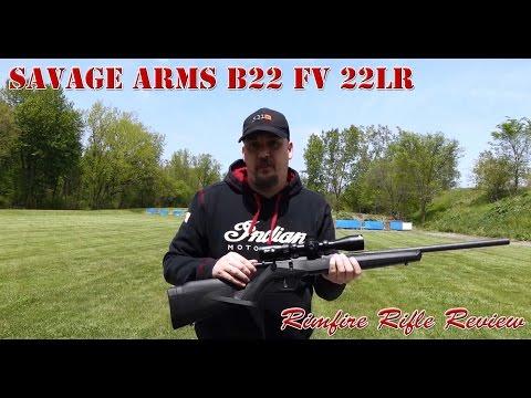 Savage Arms B22 FV 22LR Rimfire Rifle Review