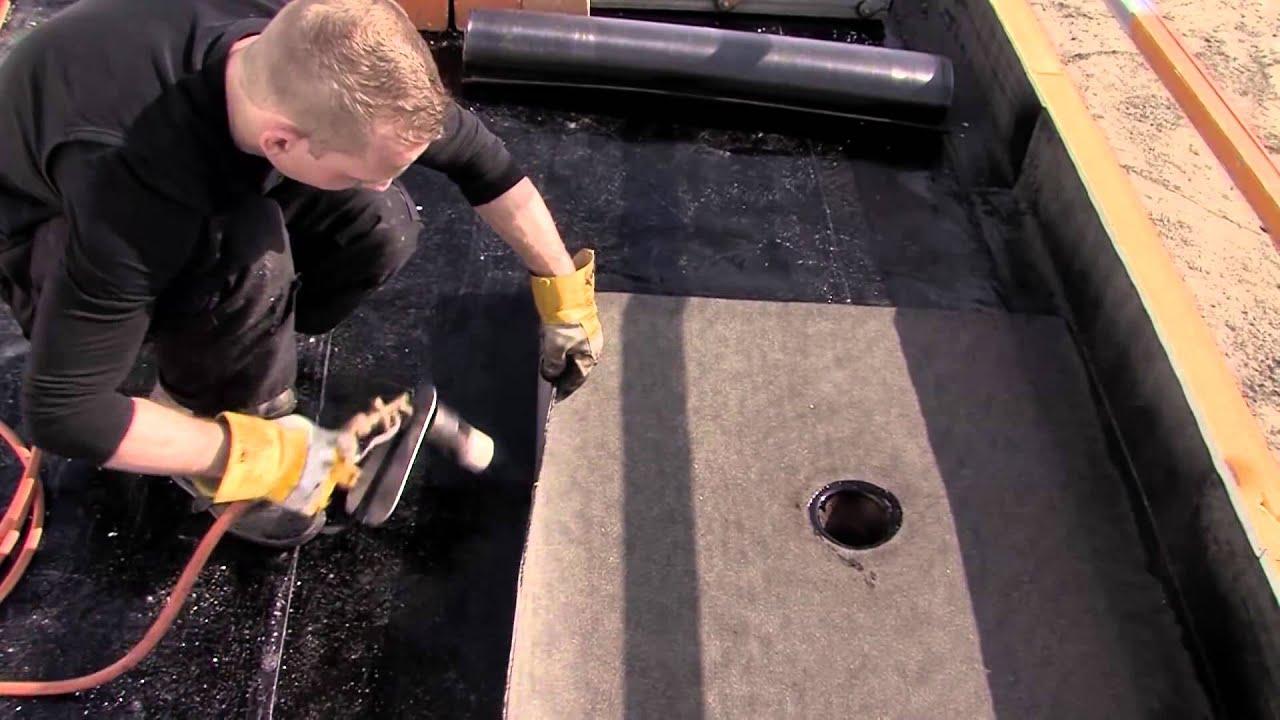 17 7 8 Bitumen Dakbedekking Aanbrengen Met Quot Het Nieuwe