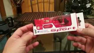 JVC Gummy Sport Stereo Headphones with Mic