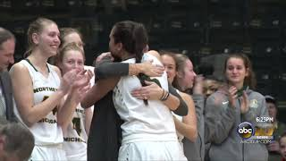 NMU basketball celebrates seniors